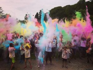 Colour Run for Hospice at Home West Cumbria