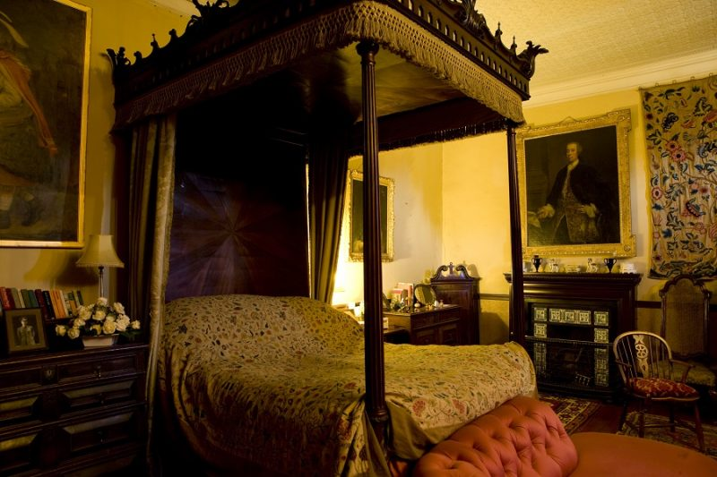 Bishops Bedroom Muncaster Castle