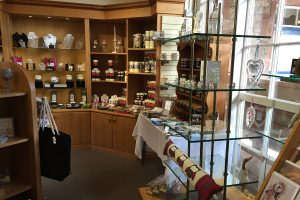 carriage house gift shop at muncaster