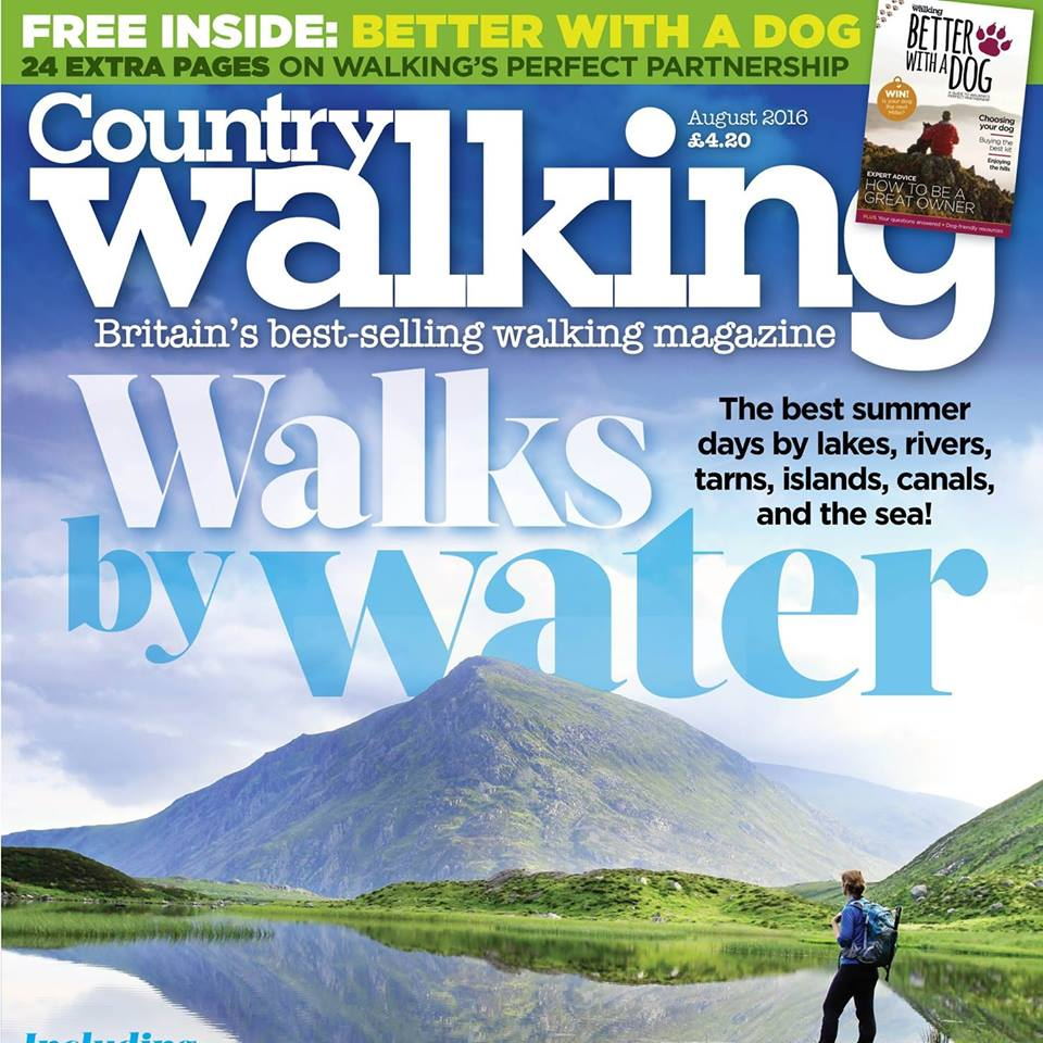 Eskdale & Muncaster feature in Country Walking Magazine