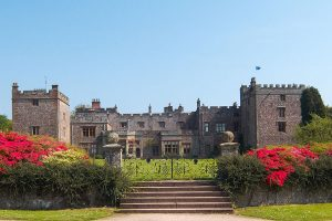 Muncaster Castle in summer by Brian Sherwen