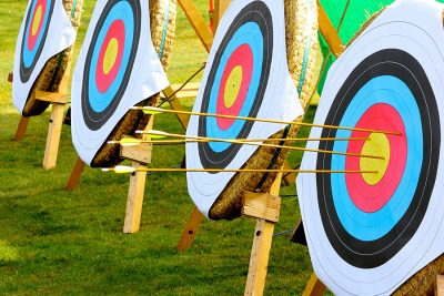 archery at Muncaster