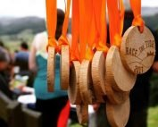 Race the Tide medals