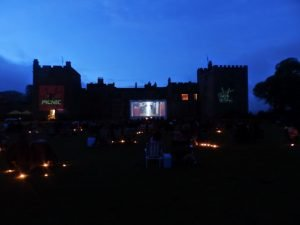 Picnic Cinema at Muncaster