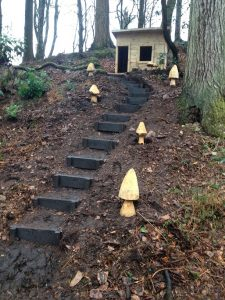 Enchanted Trail at Muncaster Casle