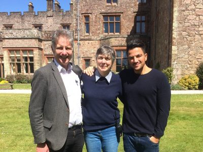 ITV This Morning at Muncaster Peter Andre