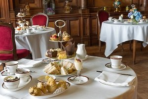 Afternoon Tea in the Castle