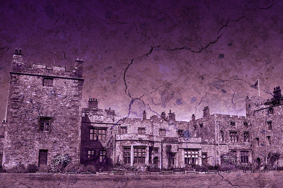 One of britains most haunted castles