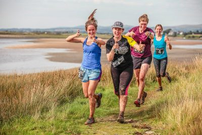 Race The Tide runners